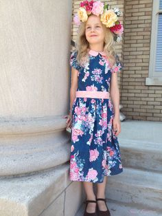 Oliver+S Fairy Tale Dress sewn by Skirt Fixation