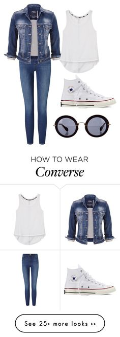 """Untitled #269"" by marcelina767 on Polyvore featuring Frame Denim, maurices, Rebecca Minkoff, Converse and Miu Miu"