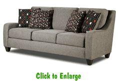 Maker Ash Sofa by Corinthian at Furniture Warehouse | The $399 Sofa Store | Nashville, TN