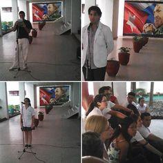 Solidaridad con #Cuba y #Puerto_Rico desde la UCMVC