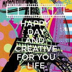 #creativeyourlife Uno puede estar lejor pero el arte es algo que ilumina y explota como un arcoiris difruta tu hermoso dia con aquellos que estan a tu lado 😁💞