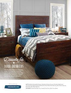 Winter 2015 Catalogue by Urban Barn Urban Barn, Home Bedroom, Home Organization, Home Goods, Catalog, Decoration, House, Furniture, Winter