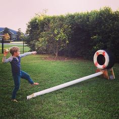 Tire pitching target WITH pvc Ball return (my hubby's great idea) .Tire pitching target WITH pvc Ball return (my hubby's great idea) . Baseball Tips, Baseball Crafts, Baseball Pitching, Baseball Games, Baseball Mom, Sports Baseball, Baseball Season, Baseball Stuff, Baseball Shirts