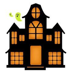 Silhouette Design Store - View Design #153331: haunted house