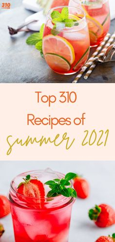 Are you ready to find out the top mouthwatering, refreshing, tantalizing 310 recipes of the summer? We're ready to round up the top ten recipes for you! If you haven't made these yet, get your blender or shaker cup ready. Protein Powder Recipes, Protein Shake Recipes, Protein Shakes, Top Recipes, Summer Recipes, Drink Recipes, Yummy Drinks, Healthy Drinks, Healthy Breakfast Recipes