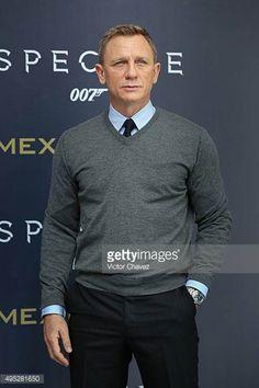Actor Daniel Craig attends a photo call to promote the new film 'Spectre' on November 1 2015 in Mexico City Mexico Rachel Weisz, Daniel Craig James Bond, Best Bond, Z Cam, Sundance Film, Mark Wahlberg, Ben Affleck, Channing Tatum, Celebrity Dads