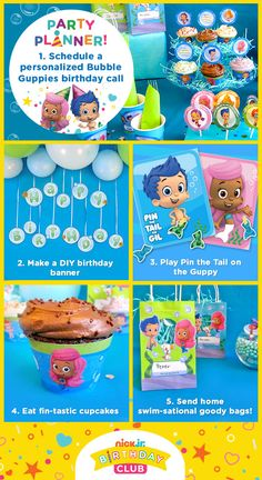 Plan a fin-tastic Bubble Guppies Birthday Party!