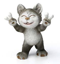 """Фигурка """"кошка """" высота=15 см."""
