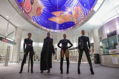#SquadGoals: Style Blogger and Friends Slay in SuperHero-Themed Photo Shoot | Black Girl with Long Hair