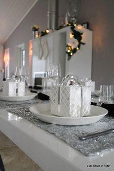 Coconut White: Timanttinen glamour-kattaus jouluksi