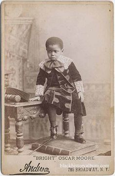 Sharp Dresser, 1875, African-American youth