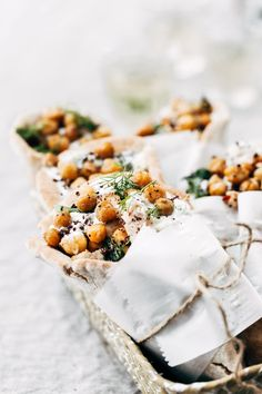Weeknight Roasted Chicken Pita Wraps with Crispy Chickpeas and Tzatziki