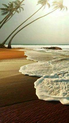 Joy Of Pictures. Joy Of Earth - Thomas - Schöne Orte - Wallpaper Tropical Beaches, Beach Scenes, Ocean Beach, Beach Pictures, Amazing Nature, Beautiful Beaches, Beautiful World, Beautiful Landscapes, Nature Photography