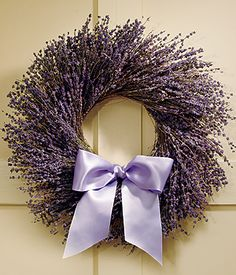 lavender {minus the lavender bow... maybe burlap & lace instead}