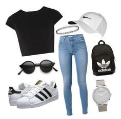 Cute sporty outfits for high school Cute Sporty Outfits, Simple Outfits, Stylish Outfits, Stylish Dresses, Classy Outfits, Teen Girl Outfits, Teen Fashion Outfits, Outfits For Teens, Work Outfits