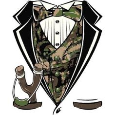 Sling Shot Camo Tuxedo by Mychristianshirts on Etsy