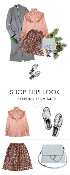 """""""Yeah, it's very simple ;)"""" by sinsnottragedies ❤ liked on Polyvore featuring Yves Saint Laurent, STELLA McCARTNEY, Alice + Olivia, Chloé and CÉLINE"""