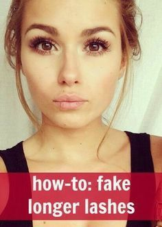 How To Fake Longer Lashes