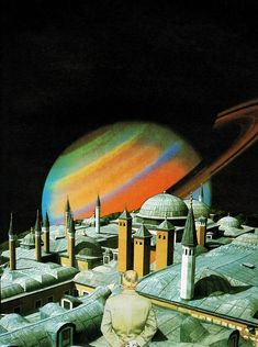 Tropic of Capricorn Arte Sci Fi, 70s Sci Fi Art, Psy Art, Science Fiction Art, Through The Looking Glass, Fantasy Landscape, Retro Futurism, Out Of This World, Collage