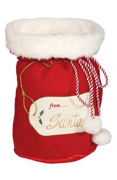 From Santa Christmas gift bag