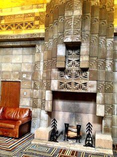 Arizona Biltmore Hotel. Frank Lloyd Wright. (Schematic Design Architect). Albert Chase McArthur lead Architect. Phoenix, Arizona. 1929