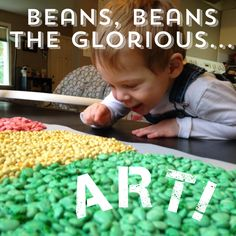 Endless fun with dyed beans! -The Bitty-Bits Blog