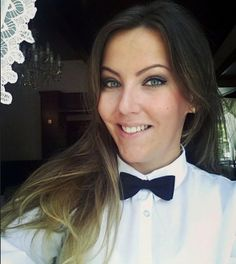 Waitresses Dressed In Her Uniform With Black Bow Tie | Flickr