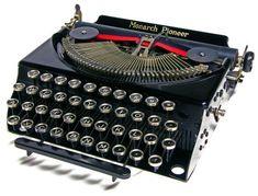 Remington Monarch Pioneer 1932
