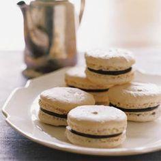 Peanut-Chocolate Macarons Recipe