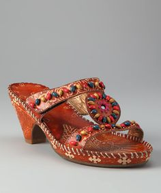 Take a look at this Amber St. Kitts Slide by Elite by Corky's Footwear on #zulily today!