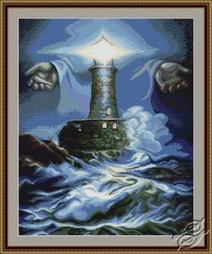 Lighthouse - Cross Stitch Kits by Luca-S - B414