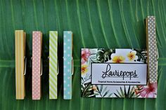 Magnetic/non-magnetic tropical photo pegs! Whether they are pegging your holiday photos to the fridge or helping you decorate the house, these handy pegs make sure your life is tropically in order. Tropical Houses, Holiday Photos, Home Accessories, Magnets, Classroom, Craft Ideas, Places, Handmade Gifts, Party