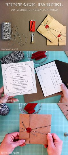 A Timeless Wax Seal And A Very Easy And Inexpensive DIY Project That Will Be Fun For Your Wedding Guests To Open