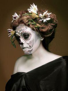 Sugar skull. Make up by @XoeMUA
