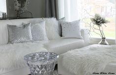 Home White Home: Olohuoneen vaaleat syystekstiilit
