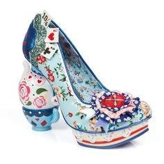 Irregular choice does Alice in Wonderland
