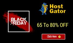 Hostgator Black Friday 2017 Sale  Grab your hostgator hosting at affordable price.
