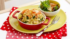 zucchini macaroni pots