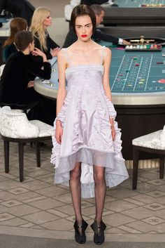 Chanel Fall 2015 Couture Fashion Show - Emmy Rappe