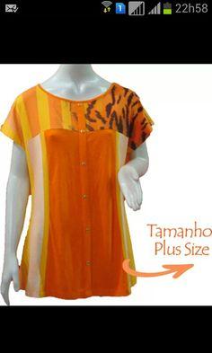 Tem Plus Size na Loja Virtual ♡ www.thaishipolito.com