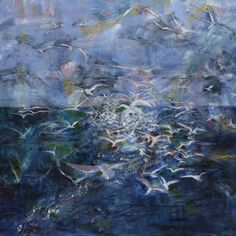 Feeding Frenzy by Fiona Cutting. Buy now from $75 at g-1.com. Available in both 35X35cm and 50X50cm.