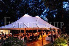 A Modern Greek Wedding for 160 Under a Sailcloth Tent, Philadelphia, PA