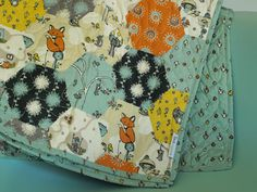 Birch Organic Play Quilt Scamper Patch