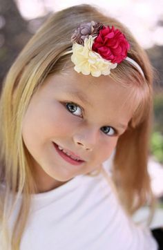 PLH Bows & Laces Floral Headband (Baby Girls) available at #Nordstrom