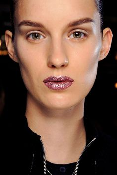Christian Dior, Couture Fall 2013 runway makeup. Photo: Matteo Valle / InDigital | GoRunway. #Dior_runway_makeup_2013