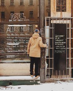 EyeEm lunch breaks  @eyeemphoto #esel #eselberlin #dashotel #peekaboo #windowreflection #winter #lunchbreak #winterwear #allesneu #closedforbusiness #eyeem #kreuzberg #berlin by chezkishazy