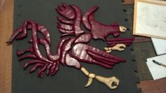 Gamecock intarsia, not complete yet
