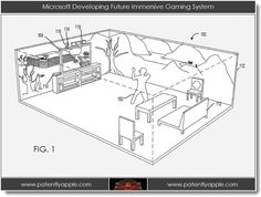 Microsoft's vision for the future of gaming transforms your living room to make it part of the game