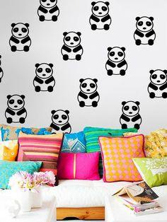 Adesivo de Parede Panda