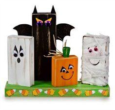 Halloween Block Friends
